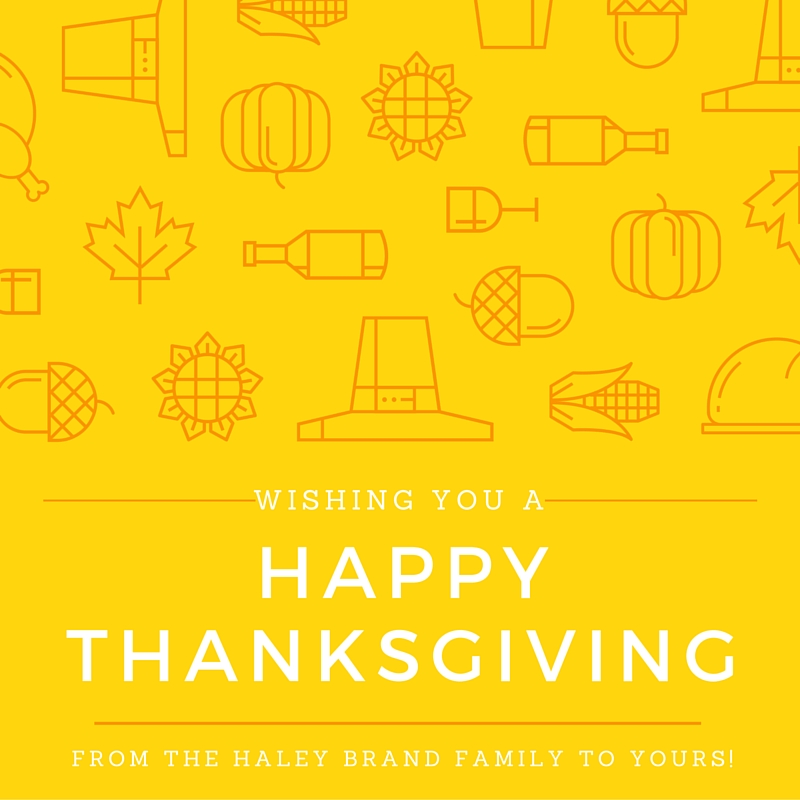 aviation brand thanksgiving