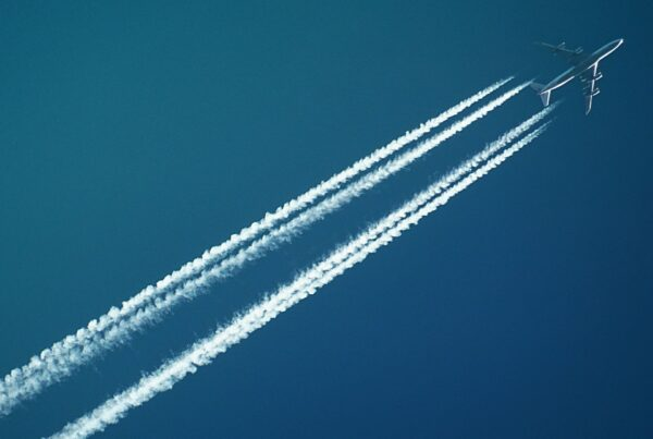plane flying across the sky showing haley's lead generation abilities